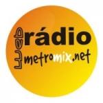 Logo da emissora Rádio Metromix