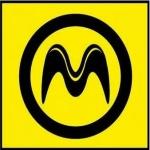 Logo da emissora Rádio Mega 105.9 FM