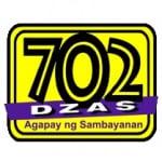 Logo da emissora Rádio Dzas 720 AM