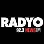 Logo da emissora Rádio DWFM News 92.3 FM