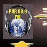 Logo da emissora Rádio PHR 80.9 FM