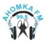 Logo da emissora Rádio Ahomka 99.5 FM