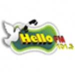 Logo da emissora Rádio Hello 101.3 FM