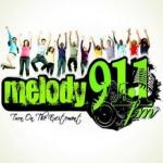 Logo da emissora Rádio Melody 91.1 FM