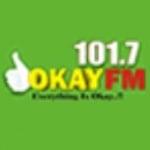 Logo da emissora Rádio Okay 101.3 FM
