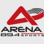 Logo da emissora Arena Sports 89.4 FM