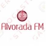 Logo da emissora Alvorada FM