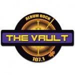 Logo da emissora The Vault 107.1 FM