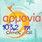 Logo da emissora Rádio Armonia 103.2 FM