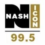 Logo da emissora WZRR 99.5 FM Nash Icon