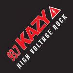 Logo da emissora KAZY 93.7 FM