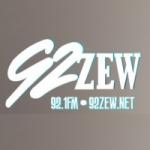 Logo da emissora WZEW Hangout 92.1 FM