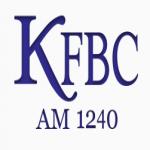 Logo da emissora KFBC 1240 AM