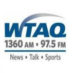 Logo da emissora WTAQ 1360 AM