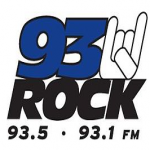 Logo da emissora WRQE 93.5 FM Rock