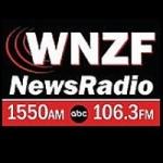 Logo da emissora Radio WNZF 1550 AM 106.3 FM