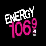 Logo da emissora WNRG 106.9 FM Energy