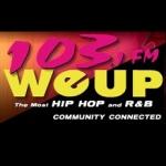 Logo da emissora WEUP 103.1 FM