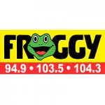 Logo da emissora Radio WOGI 104.3 FM