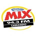 Logo da emissora Rádio Mix 94.3 FM