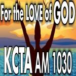 Logo da emissora KCTA 1030 AM