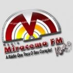 Logo da emissora Radio Miracema FM 104.9
