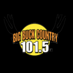 Logo da emissora WXBW 101.5 FM Big Buck Country