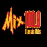 Logo da emissora WMXE 100.9 FM The Mix