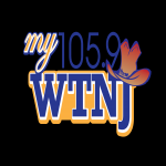 Logo da emissora WTNJ 105.9 FM