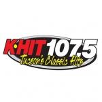 Logo da emissora KHYT 107.5 FM K-Hit