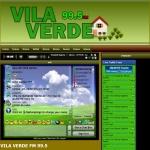 Logo da emissora Rádio Vila Verde 99.5 FM