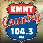 Logo da emissora KMNT - 104.3 FM