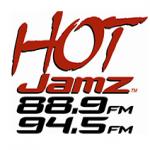 Logo da emissora KMIH 88.9 FM Hot Jamz