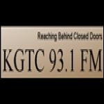 Logo da emissora KGTC 93.1 FM