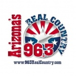 Logo da emissora Radio KSWG 96,3 FM Real Country