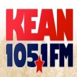 Logo da emissora KEAN 105.1 FM