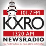 Logo da emissora KXRO 1320 AM Newsradio