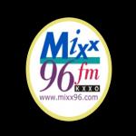 Logo da emissora KXXO 96.1 FM Mixx