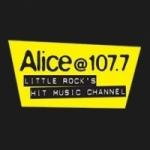 Logo da emissora Radio KLAL 107.7 FM