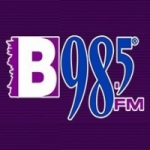 Logo da emissora Radio KURB 98.5 FM