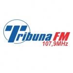 Logo da emissora Rádio Tribuna 107.9 FM