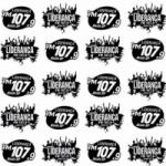 Logo da emissora Rádio Liderança 107.9 FM