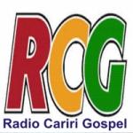 Logo da emissora Rádio Cariri Gospel