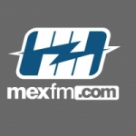 Logo da emissora Mex FM