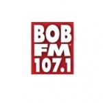 Logo da emissora KESR 107.1 FM Bob