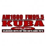 Logo da emissora KUBA 1600 AM