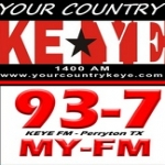 Logo da emissora KEYE 93.7 FM