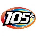 Logo da emissora R�dio 105 FM Crato