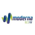 Logo da emissora Rádio Moderna 92.1 FM