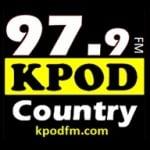 Logo da emissora KPOD 97.9 FM Country
